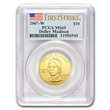 First Spouse Coins (PCGS Certified)